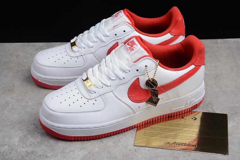 a4ae68a90d7356d317c0fd67c419f362 - Nike Air Force 1 空軍一號 男款 白紅板鞋 休閒鞋 新品-熱銷推薦❤️