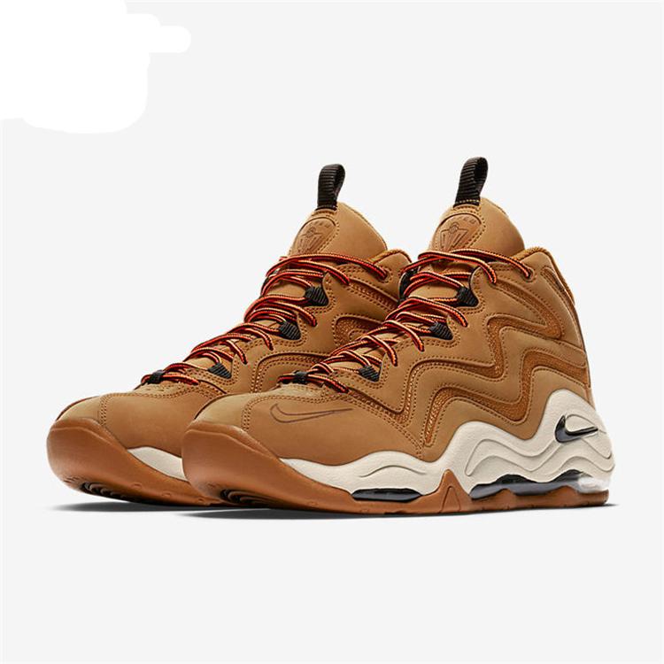 a651603084125005dc4d9f1d6c183432 - Nike Air Pippen皮蓬1代 小麥色 氣墊 實戰 高筒 籃球鞋 男款-最高品質❤️