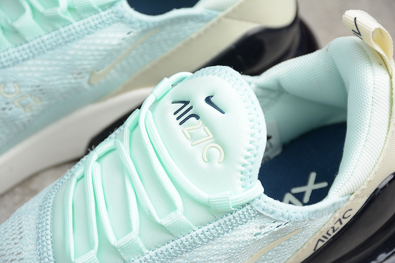 b2d456b817b255730192bfbfef52efb2 - Nike Air Max 270 網面 薄荷綠 女鞋 半掌慢跑鞋 時尚 百搭-熱銷推薦❤️