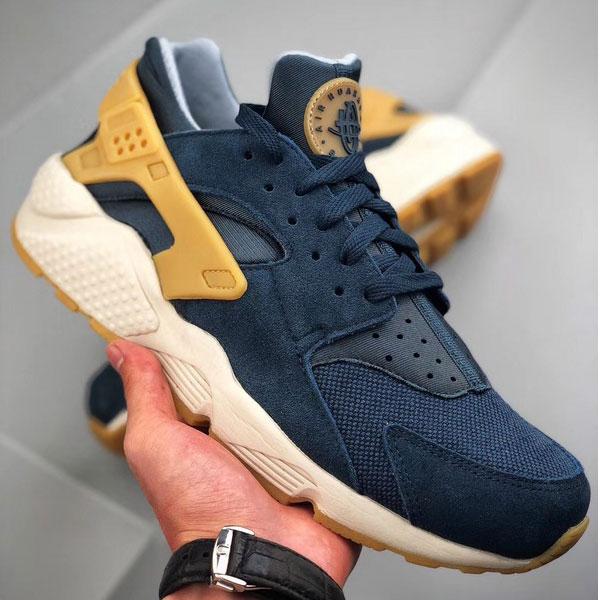 b86e3691e1b2e1a84fb075d5b7f3b12d - Nike Air Huarache Run SE 華萊士 復古慢跑鞋 男鞋 深藍色 新品-獨家發售❤️