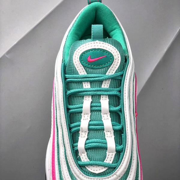 b908f785670f2605b9aee861ff40e4c7 - Nike Air Max 97 南海岸 情侶款 白綠色 全掌氣墊慢跑鞋 新品-秒殺款❤️