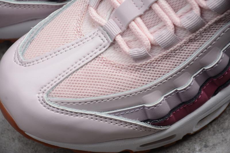 b9fb79413fc22959a7027a1d42849ac2 - Nike Air Max 95 粉紫色 氣墊跑鞋 女款 休閒運動鞋 百搭-熱銷推薦❤️