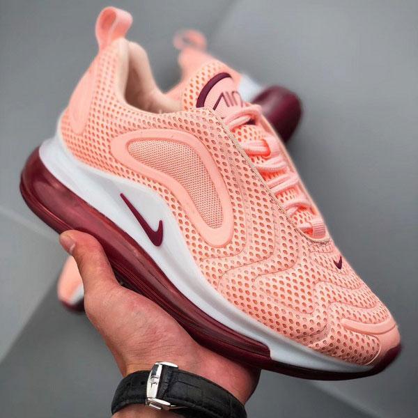 c8e59f7ce9370533a6607f69f7247e89 - Nike Air Max 720 滴塑面 全掌氣墊慢跑鞋 女款 粉色 百搭-熱銷推薦❤️