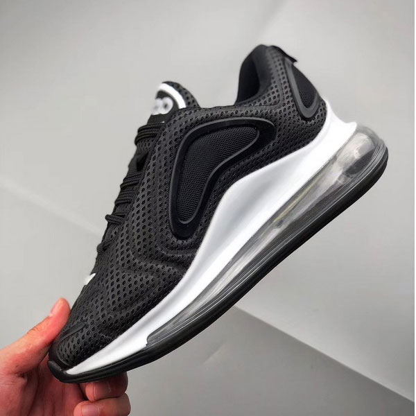cd4362c360c15f8e76dc6ae8156eec34 - Nike Air Max 720 滴塑面 全掌氣墊慢跑鞋 情侶款 黑色 潮搭-熱銷推薦❤️