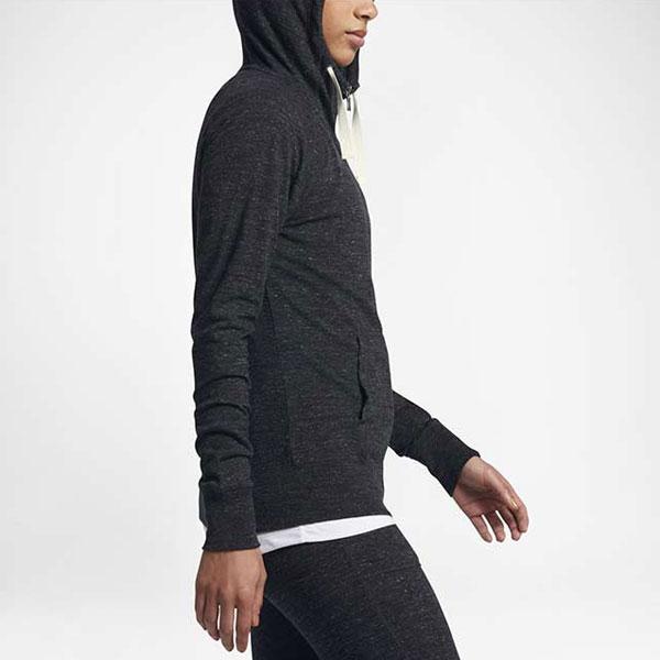 cf10ed6822658152145a6cd6ba9682d0 - Nike Sportswear 女子 拉鏈開襟連帽衫 運動外套 深灰色-現貨限量❤️