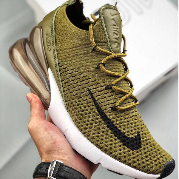 d20e19b294d3184ec649ae9f9319542b - Nike Air Max 270 網面 半掌氣墊跑步鞋 軍綠色 運動 男款-限時特賣❤️