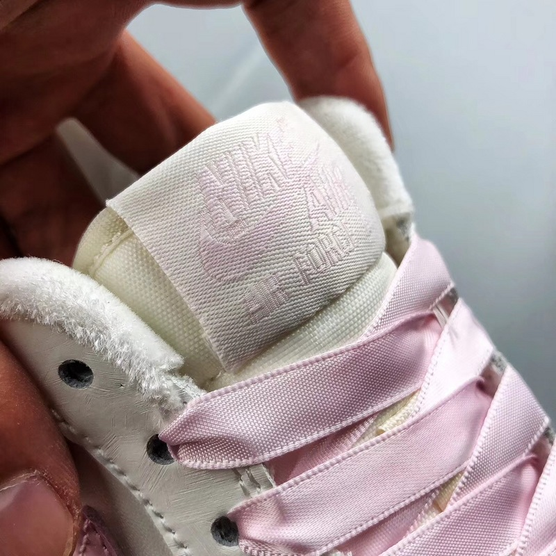 d627462608db05f7c81eeb3197a3462f - Nike Air Force 1 空軍一號 低幫 女款 白粉 綢緞 經典 休閒板鞋-熱銷推薦❤️