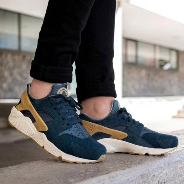 d824fe28cbbc7d89b75d2e4740d24c82 - Nike Air Huarache Run SE 華萊士 復古慢跑鞋 男鞋 深藍色 新品-獨家發售❤️