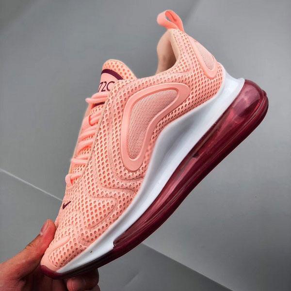 d9fc6ad149235b90dca48763dad2b521 - Nike Air Max 720 滴塑面 全掌氣墊慢跑鞋 女款 粉色 百搭-熱銷推薦❤️