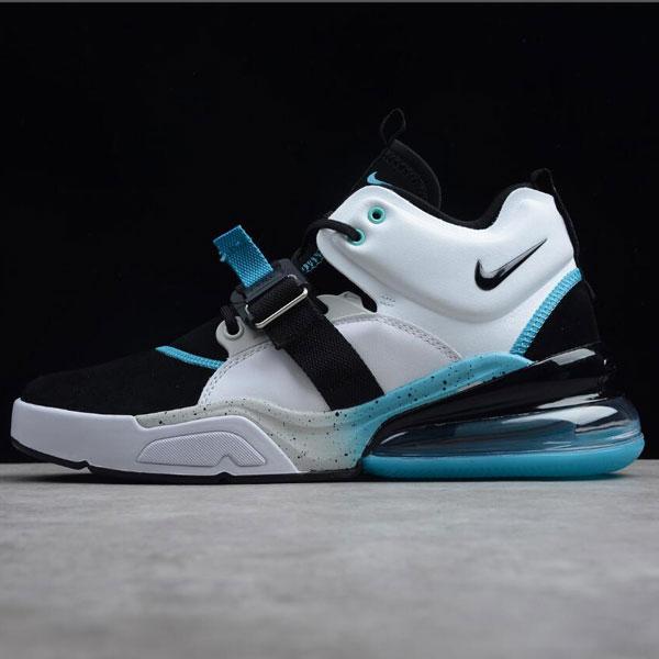 db2ad6cc470f71405fee8dad7420f916 - Nike Air Max 270 機能半掌氣墊 跑步鞋 男款 黑白藍 潮流 百搭-超熱賣❤️