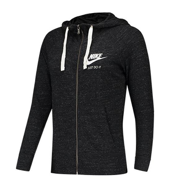 dda0d86dda3a73079b2662987816738d - Nike Sportswear 女子 拉鏈開襟連帽衫 運動外套 深灰色-現貨限量❤️