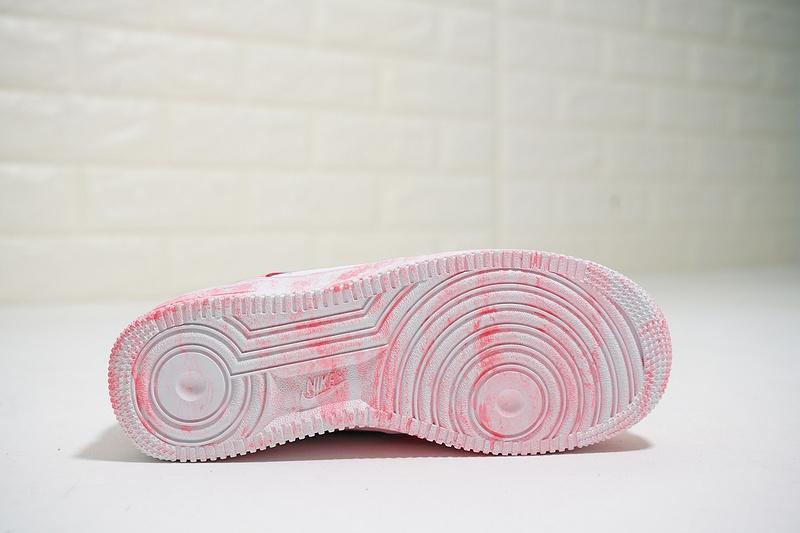 e3d5bcb8127302d4348a575d70729aa1 - Nike Air Force 1 Low 經典 百搭 休閒板鞋 厚底增高 粉白色-熱銷NO1❤️