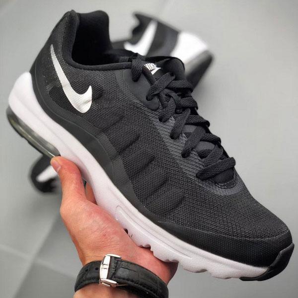 e3ed32a1084ee7dac19be132d8d0e321 - Nike Air Max Invigor 半掌氣墊跑步鞋 情侶款 黑白色 休閒 百搭-熱銷推薦❤️