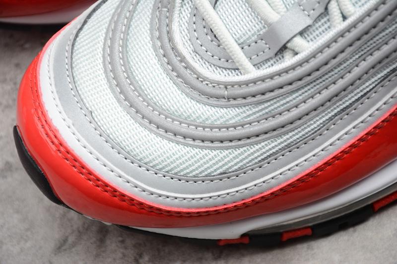 e649be8a25c9e1b96f8ba6e4fdf5f47f - Nike Air Max 97 OG 白紅 男女鞋 子彈頭 銀紅色 運動 休閒 潮搭-最夯商品❤️