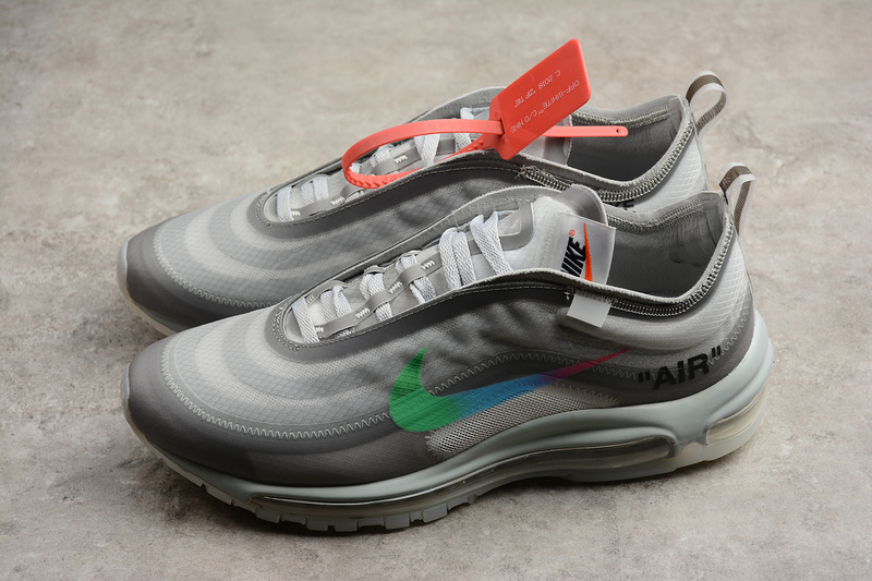 eaa39097f1d9cbf884c426d49def8806 - Off White ow x Nike Air Max 97 子彈 慢跑鞋 情侶款 灰色 新款-超值人氣❤️
