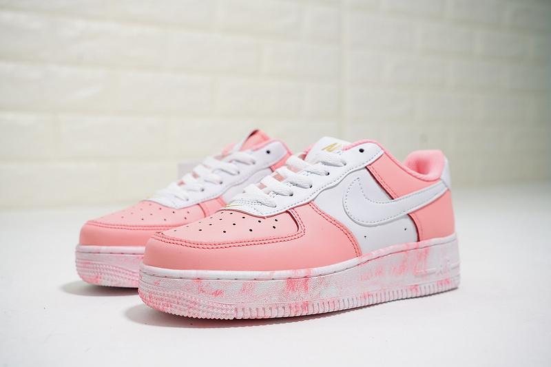 edbf065e92811ea8f02c415499861835 - Nike Air Force 1 Low 經典 百搭 休閒板鞋 厚底增高 粉白色-熱銷NO1❤️
