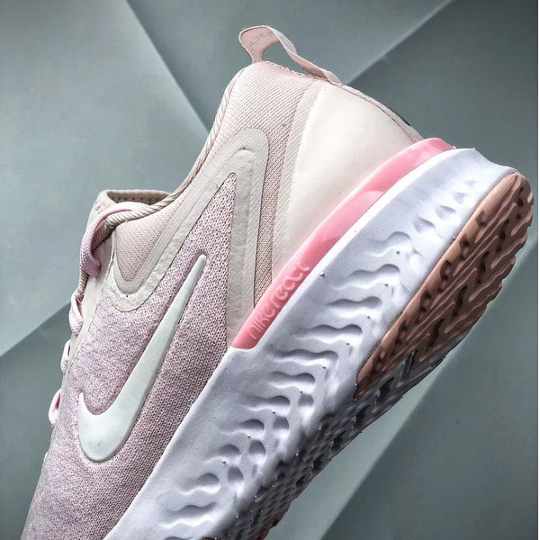 f7f3adafd5978eb71fea46b6b6808467 - Nike Epic React Flyknit 2代 白粉色 女款  透氣 慢跑鞋 舒適-現貨秒殺❤️