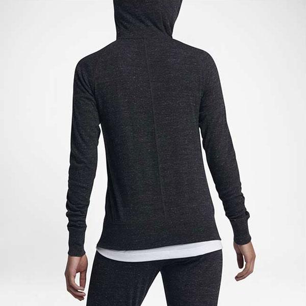fe2ad4f5237ac7b05df8c43124d67ed5 - Nike Sportswear 女子 拉鏈開襟連帽衫 運動外套 深灰色-現貨限量❤️