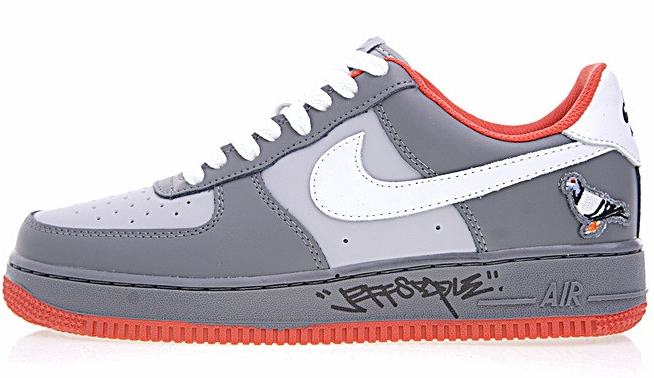 0eabe60192453295cb2616ccee4800a4 - Staple x Nike AIR FORCE 1  Pigeon 簽名版 灰鴿子 情侶鞋 1304292-011