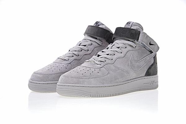 3b9d9b51f75113a7c6fb860ded282d94 - Reigning Champ x Nike Air Force 1 Mid 07空軍 中幫經典板鞋 麂皮灰暗灰 807618-200