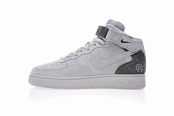 70fe301659647d107b0401962ef14131 - Reigning Champ x Nike Air Force 1 Mid 07空軍 中幫經典板鞋 麂皮灰暗灰 807618-200