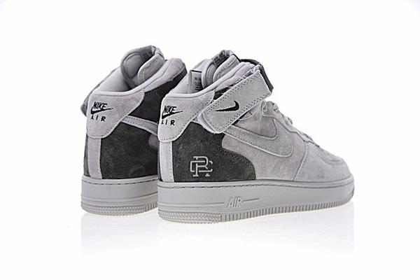 c87e5408046ea14b22cab9e28edbd665 - Reigning Champ x Nike Air Force 1 Mid 07空軍 中幫經典板鞋 麂皮灰暗灰 807618-200
