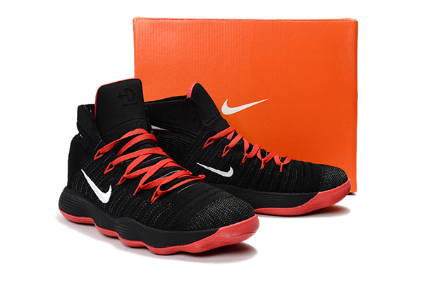 2ef814d60d966cb06873bb19b981e9e4 - Nike React Hyperdunk Flyknit 黑紅 籃球鞋 男款