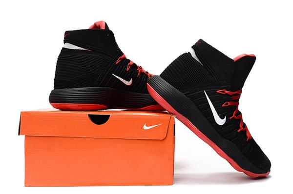 5b04ae1a8dc4e369f5887e8e1aff989d - Nike React Hyperdunk Flyknit 黑紅 籃球鞋 男款