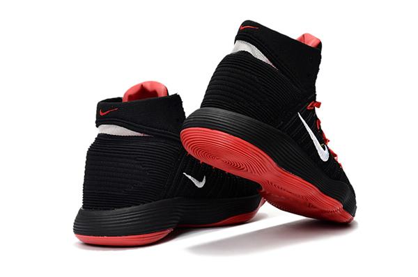 5e10b8f9e0fa648dee10a7603ae3ce23 - Nike React Hyperdunk Flyknit 黑紅 籃球鞋 男款
