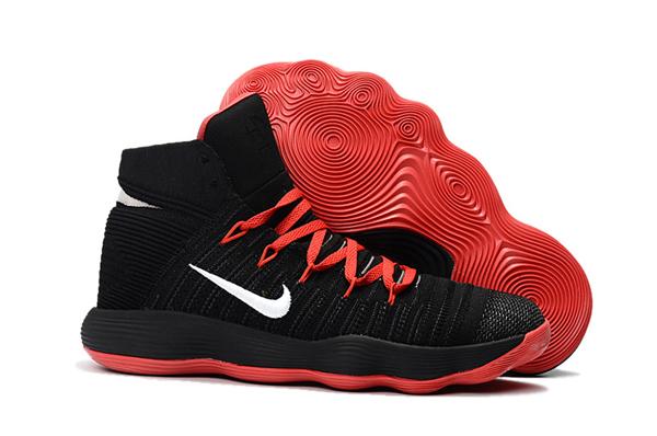 8629ff9786162b81af078a1236c2b3e7 - Nike React Hyperdunk Flyknit 黑紅 籃球鞋 男款