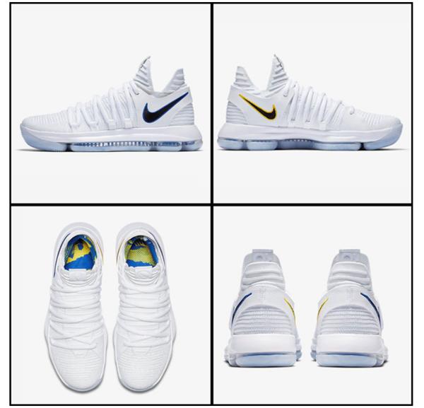 d176221565bae9dbaffaaadfa9c00db3 - Nike Zoom KD10 EP 白色 勇士 男鞋 897816-101