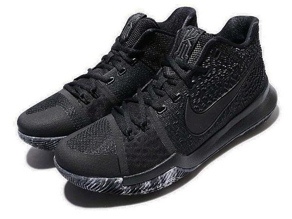 01865159df5d9c5ad7152561ffa4236b - Nike Kyrie 3 Triple Black 厄文 黑武士 男鞋 852396-005