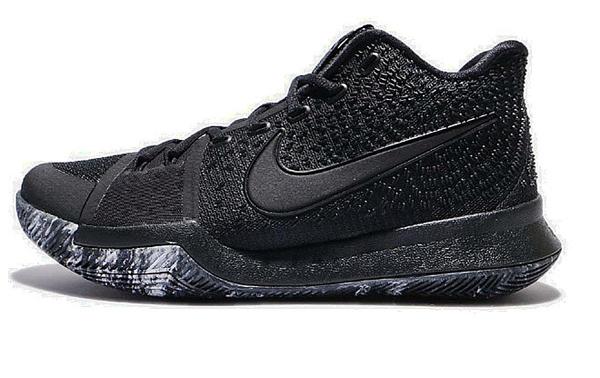 a6edb5e86cedd579c896c21ec2d2fd10 - Nike Kyrie 3 Triple Black 厄文 黑武士 男鞋 852396-005