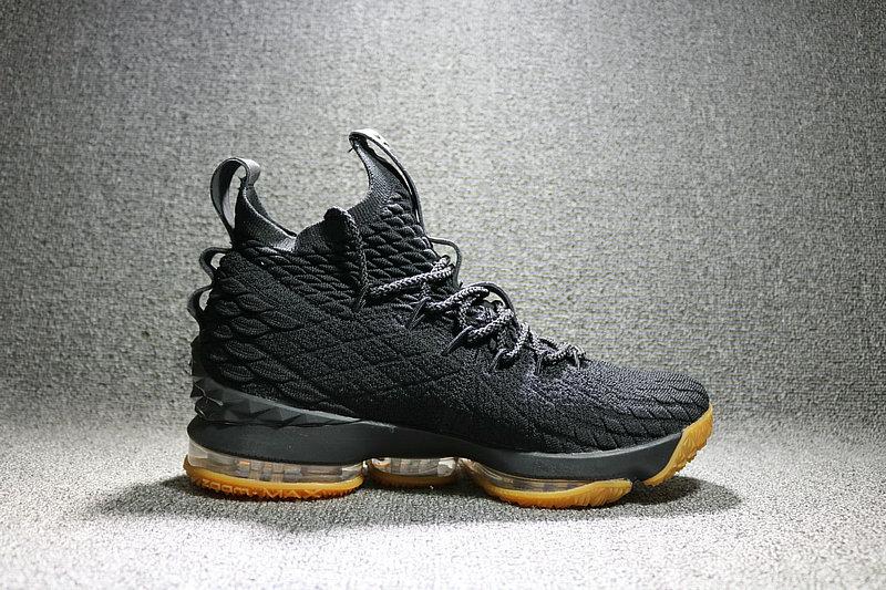 0e77b9642589abd38a947d3f65d1037a - Nike LeBron 15 LBJ15 詹姆斯15代男子籃球鞋 黑黃897648-300