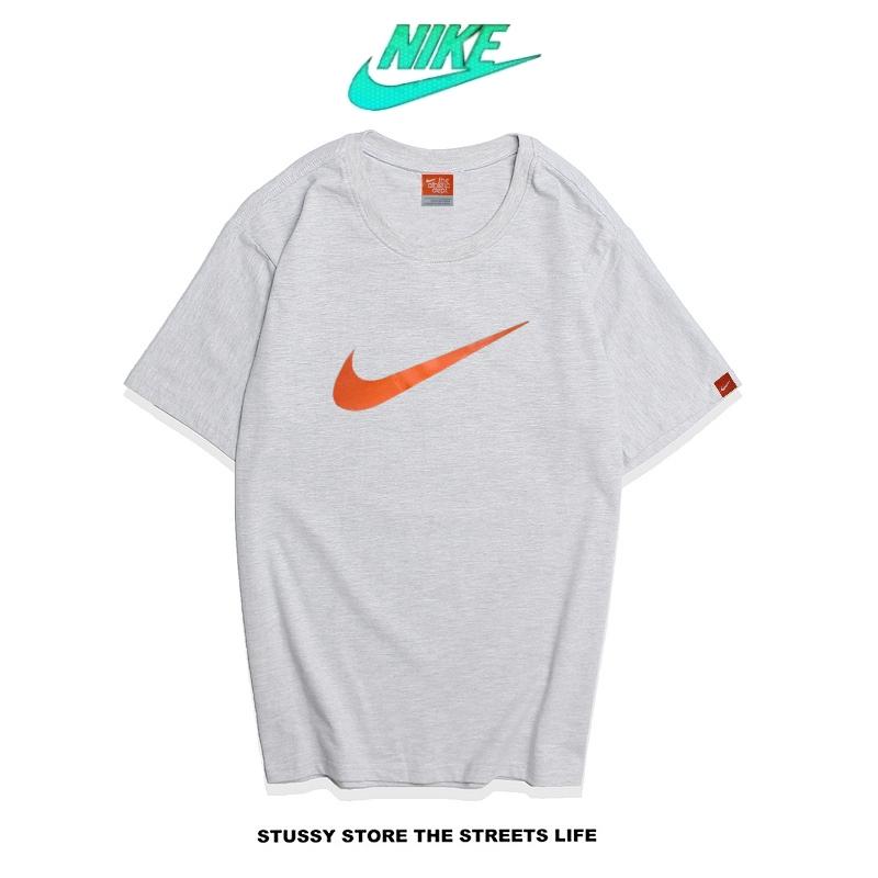 2cd8891e8d6310053f3da548caf90ae0 - Nike Futura Icon Logo Tee 字勾 經典款 男款 灰橙