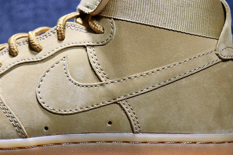 05b1bf662ee06610707674cee2826147 - Nike AF1 空軍壹號 小麥色高筒鹿皮 男女鞋 882096-200