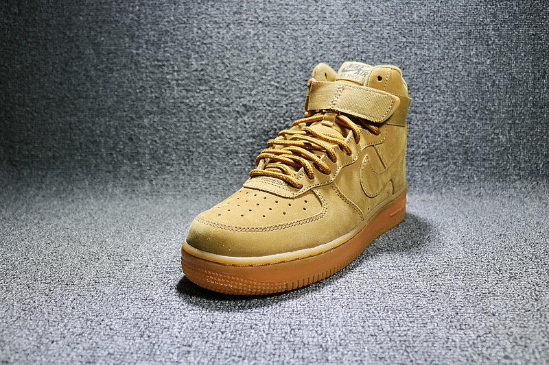 0996326f83604ee83d6b879665e17b29 - Nike AF1 空軍壹號 小麥色高筒鹿皮 男女鞋 882096-200