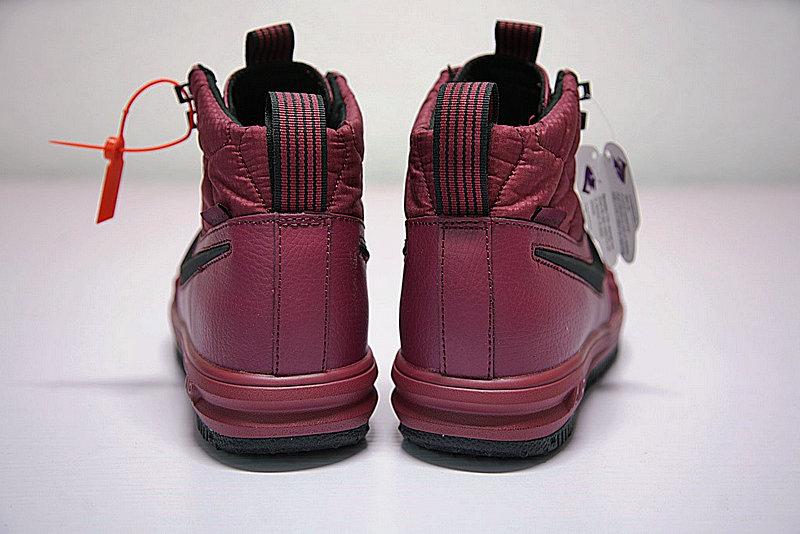 1225d75b49edbfd00352670d8259bfca - Nike Lunar Force 1 Duckboot 機能 防水 高筒靴 酒紅 916682-003