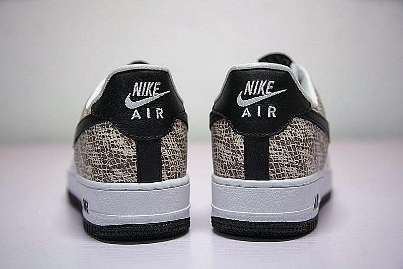 124328cc616f622a6b27005165958550 - Nike Air Force 1 Low Premium Snake Cocoa 低筒 白黑 皮蟒 蛇紋 845053-104