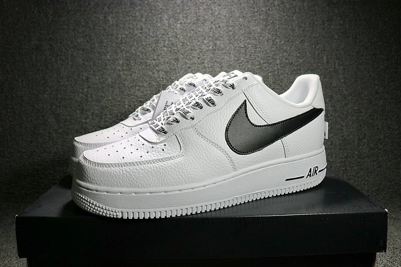 2663a92345f81b3b1dd8cc4f0dd9f19a - Nike Air Force 1 空軍壹號 經典 白黑 男鞋 823511-103