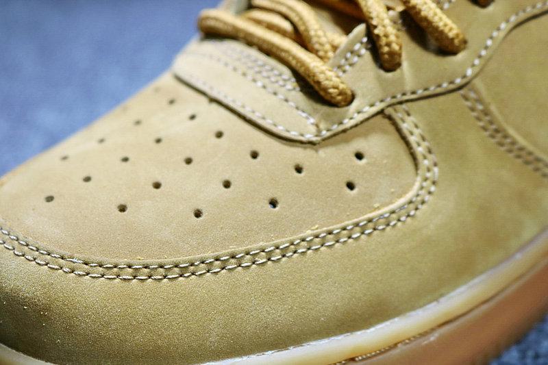 3439949d4e61aa5fff6f95b8fd668b49 - Nike AF1 空軍壹號 小麥色高筒鹿皮 男女鞋 882096-200