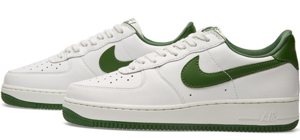 4ceb34de0b306c20a224a46068c1b8a6 - NIKE AIR FORCE 1 LOW RETRO AF1 白綠 男子休閑板鞋 845053-101