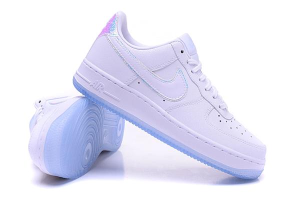 514811dac2147ead7a4921f050921311 - NIKE AIR FORCE 1 '07 PRM 全白雷射 低筒 情侶 休閒運動鞋 滑板鞋 616725-105