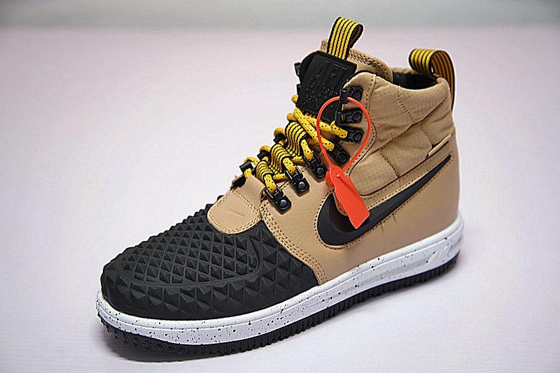 6e8c7e44735afc32f1dfaf90777e8c2c - Nike Lunar Force 1 Duckboot 機能 防水 高筒靴 黑棕 922807-701