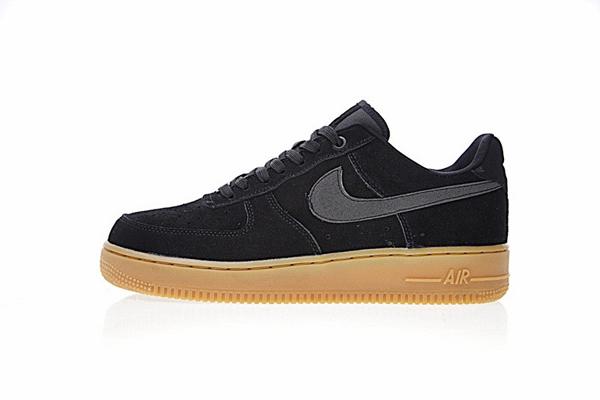 7273c6bf1b3834968c506ee0322f7a07 - NIKE AIR FORCE 1 07 SE 男女鞋 黑色 麂皮 AA0287-002