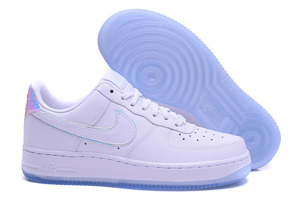 7690cd05e3d1bacfca13870184043ac0 - NIKE AIR FORCE 1 '07 PRM 全白雷射 低筒 情侶 休閒運動鞋 滑板鞋 616725-105