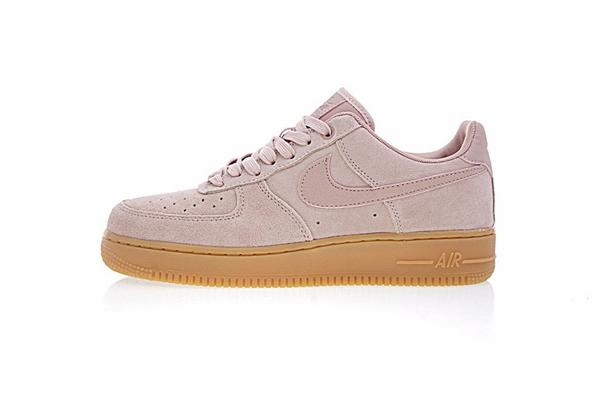7c72459e39ba029ce640c0858e1ebddc - NIKE AIR FORCE 1 07 SE 女鞋 玫瑰粉 粉色 AA0287-600