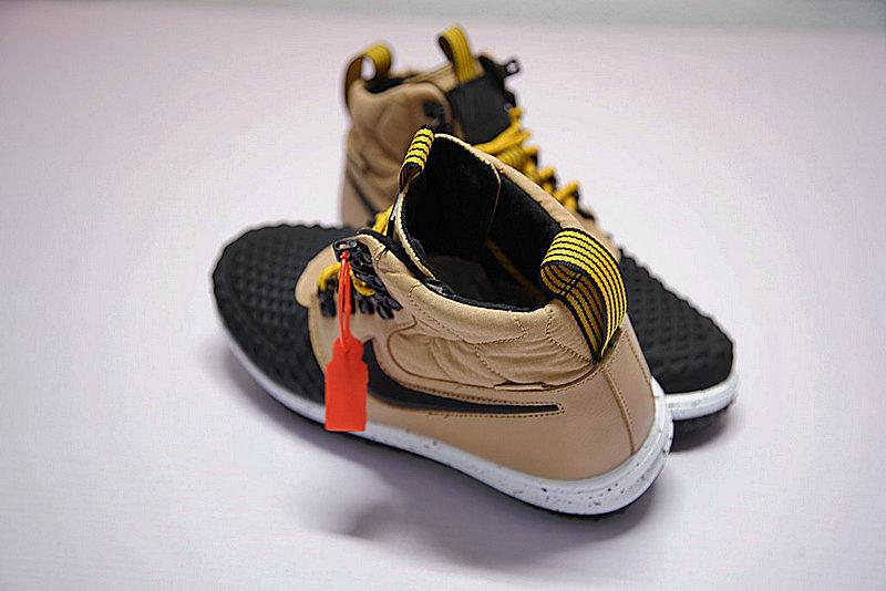 83f1526d627cbcdd672004817980ab66 - Nike Lunar Force 1 Duckboot 機能 防水 高筒靴 黑棕 922807-701