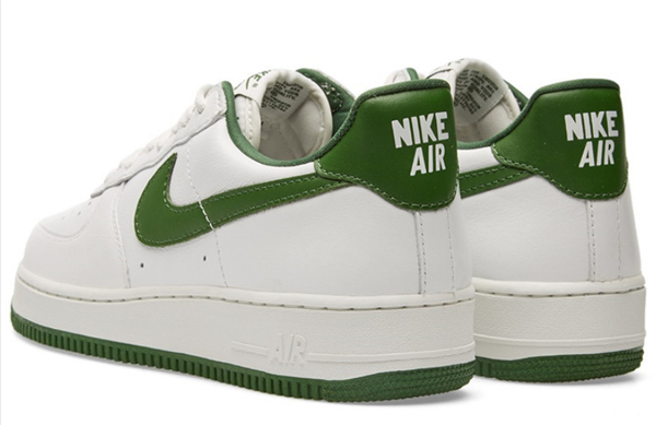 900cf9cded319dbf70a531fa3e7380d2 - NIKE AIR FORCE 1 LOW RETRO AF1 白綠 男子休閑板鞋 845053-101