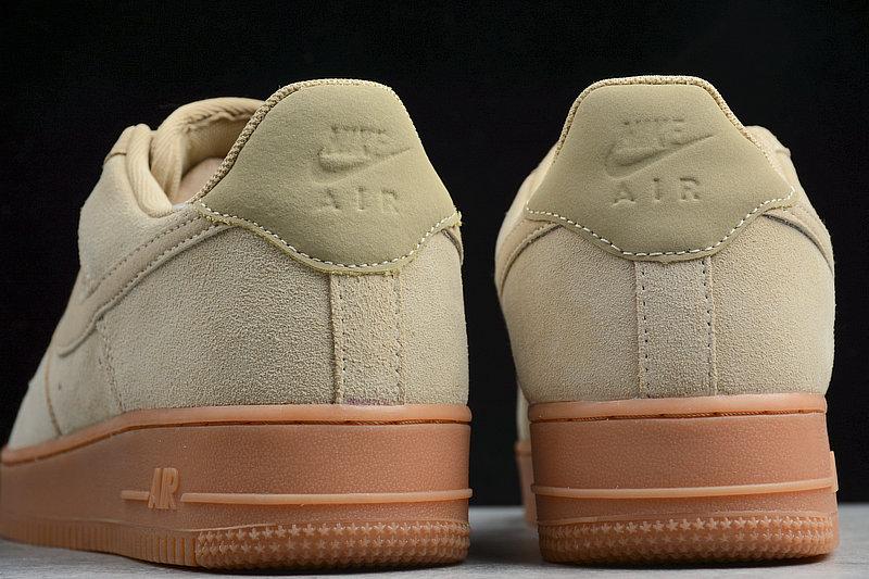 9856a480af3f48c325a9330dc58b53ec - NIKE AIR FORCE 1 AF1 空軍壹號 35周年低筒 小麥色 男鞋 AA1117-200